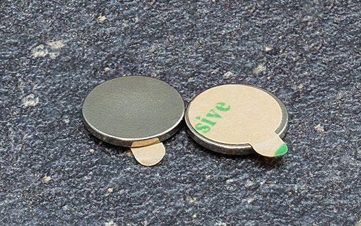 Self-adhesive magnets 10/1 mm